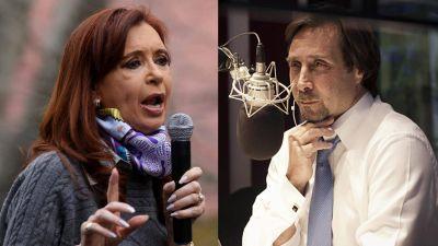 Eduardo Feinmann contó una curiosa anécdota de la mediación con Cristina Kirchner