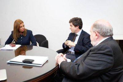 Montero se reunió con el gobernador de La Pampa por el conflicto del Atuel y calificó de