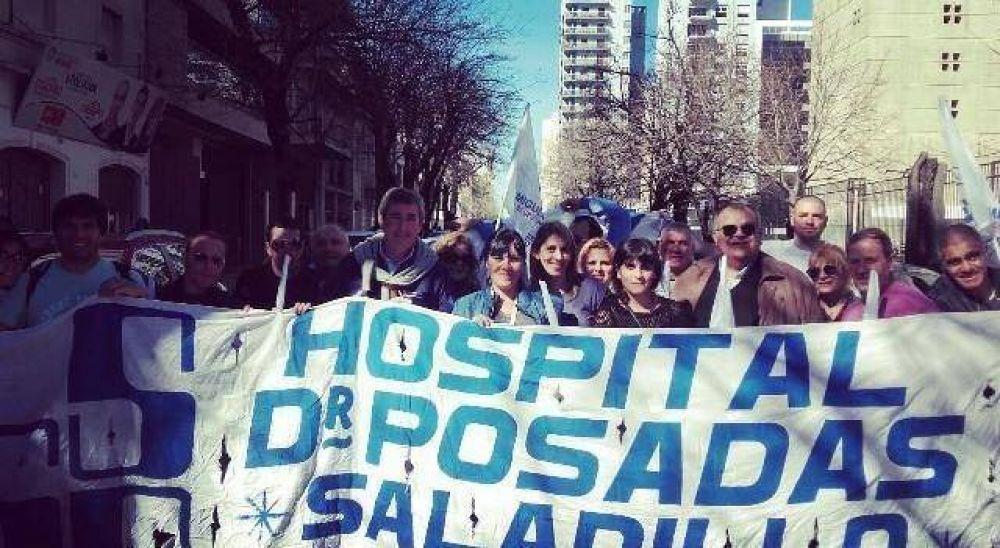 Sindicato de Salud Pública se movilizo a La Plata