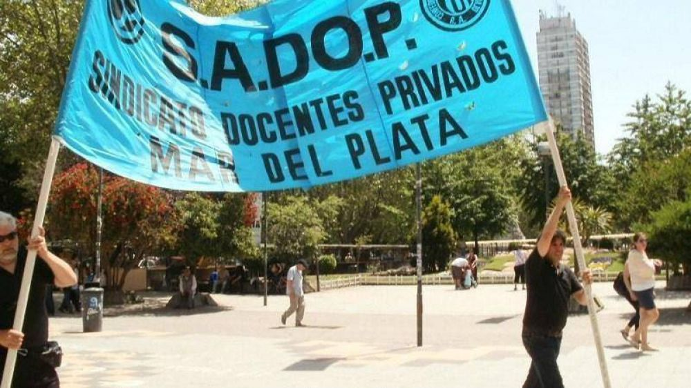 Sadop confirmó el paro y una movilización