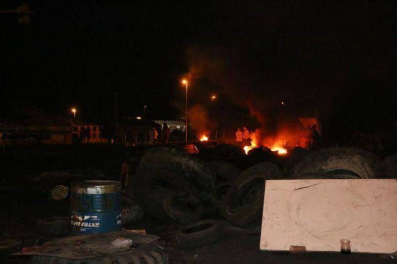 Trabajadores de Cinpal liberaron el acceso al Parque Industrial tras una orden de UOM central