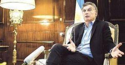 Macri dice que si su gesti�n no logra bajar la pobreza