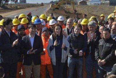 Vidal anunció el Plan de Obras Viales desde Salazar, diciendo que se invertirán 4.832 millones de pesos