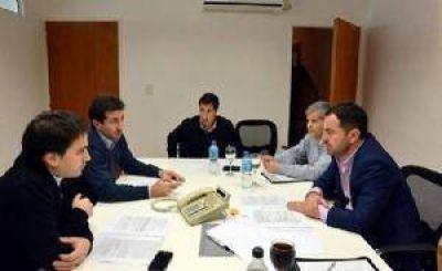 El diputado Fabio Britos se reunió con el ministro de Infraestructura Edgardo Cenzón