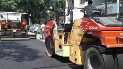 La Municipalidad lanzó la repavimentación de calles en la zona Sur