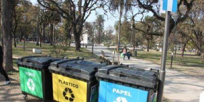 Promueven la separaci�n de residuos en espacios p�blicos