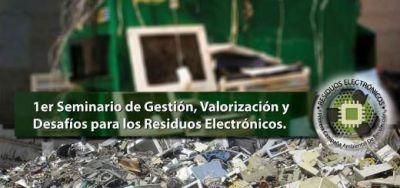 Seminario de Gestión y Desafíos de Residuos Electrónicos en La Estación Vía Cultural