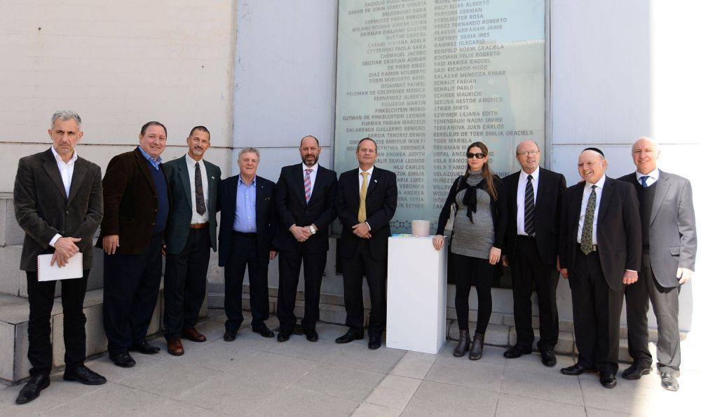 AMIA recibió la visita del nuevo Embajador de Israel