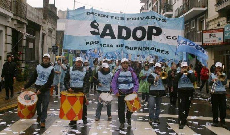 """SADOP denunció """"amedrentamientos y presiones"""" por adherirse al paro"""