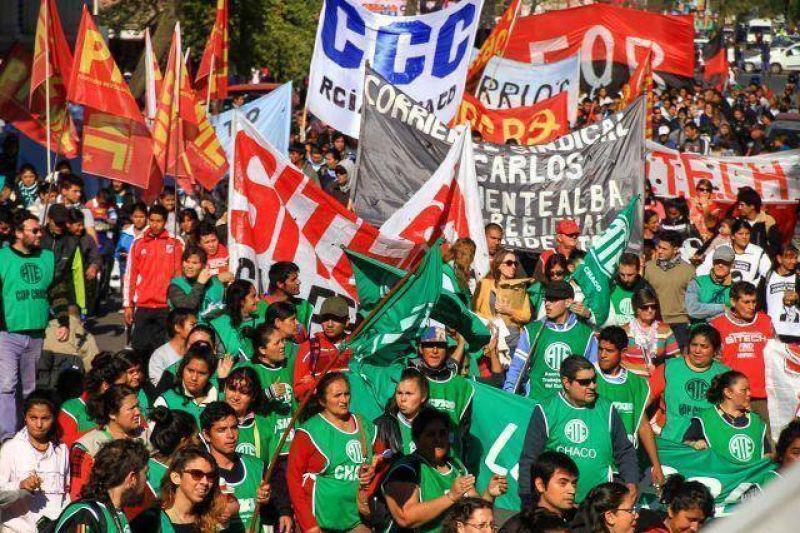 ATE, docentes, m�dicos y judiciales realizaron paro nacional