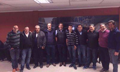 Dirigentes peronistas se juntaron para pensar como recuperar la primera sección