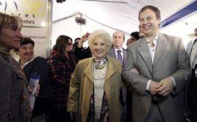 Estela de Carlotto y Cascallares inauguraron la primera Feria Federal del Libro en Brown