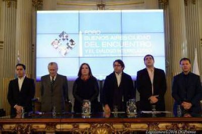 Comenz� el Foro �Buenos Aires, ciudad del Encuentro y Dialogo Interreligioso�