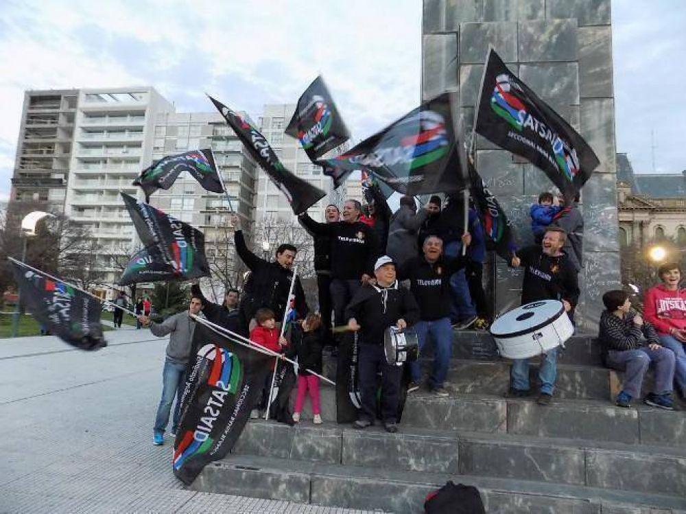 SATSAID volvió a protestar en reclamo por aumentos