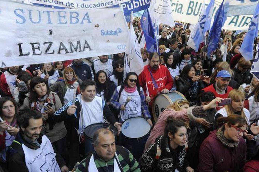 El gobierno de Vidal anunció que descontará el día a los docentes que paran