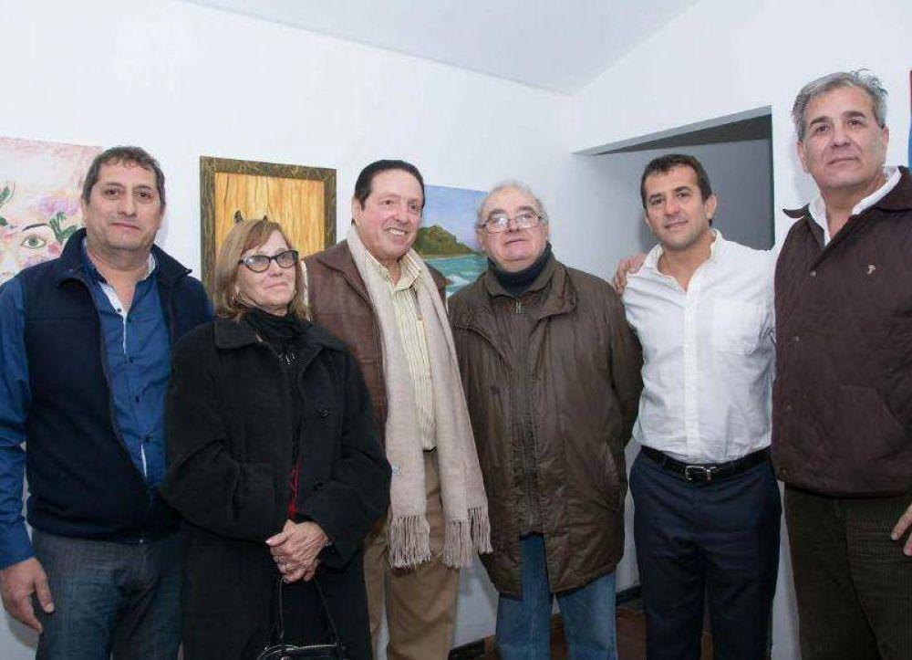 Gribaudo visitó el Centro de Jubilados de UPCN junto a Carlos Quintana