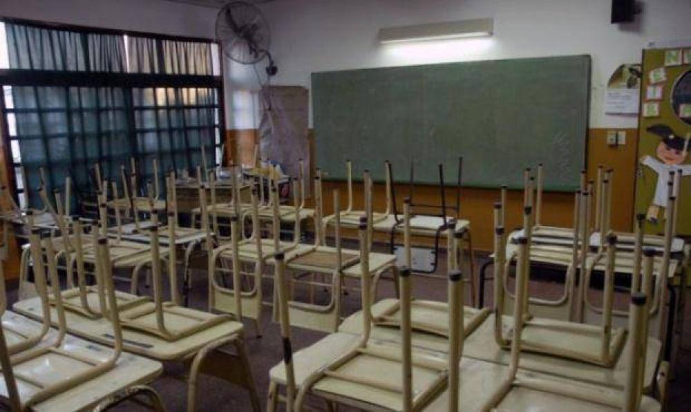 Paro docente: La Provincia confirmó que descontará el día