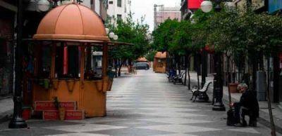 El parate de la obra pública demora los trabajos de la peatonal Muñecas