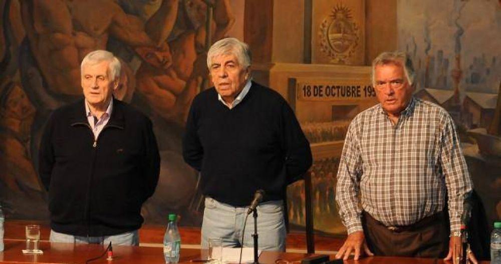 CGT: el Triunvirato no se quiebra