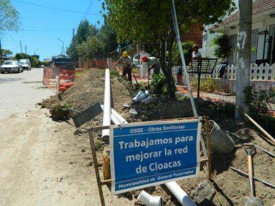 Incesante inversi�n en Faro Norte permite dotar al barrio de agua y cloacas