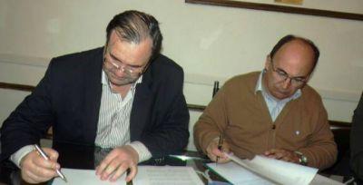 Firma de convenio con el OPDS