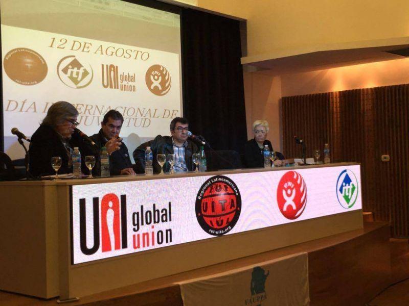 ITF particip� el primer encuentro de Juventudes Internacionales