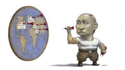 Por todos los frentes: en plena pulseada con Occidente, Putin copa la escena global