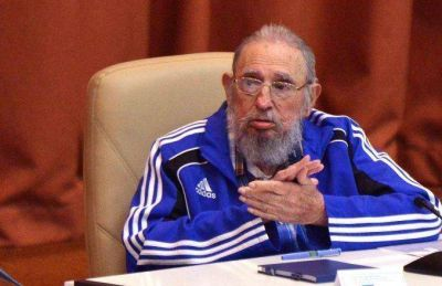 Entre cr�ticas a Estados Unidos y recuerdos, Fidel Castro celebr� sus 90 a�os