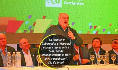 Colombi respondi� al justicialismo: �Si no quieren no habr� reforma�