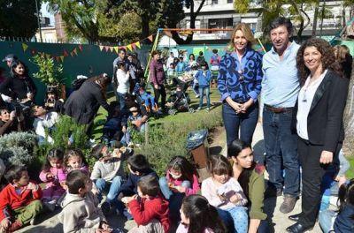 Karina Mazzocco y Gustavo Posse celebraron el Día del Niño en el