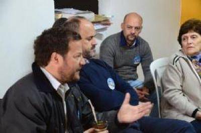 Pami regional Chivilcoy se reunió con afiliados del gremio petrolero