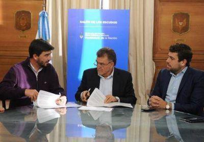 Nación financia mejoramiento habitacional en Olavarría, Adolfo Alsina y Rauch