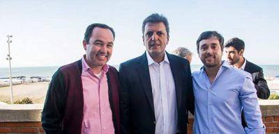 Hernán Luna en congreso del Frente Renovador