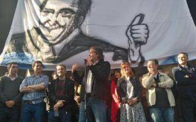 Secco y Máximo Kirchner pusieron en marcha el Frente Ciudadano en La Plata