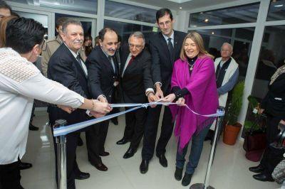 Bertone participó de la inauguración del edificio del Consejo de Ciencias Económicas