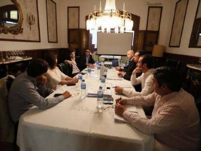 Provincia y Nación desarrollan agenda común en temas de agua potable, saneamiento y riego