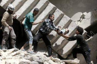 La situaci�n humanitaria en Alepo es
