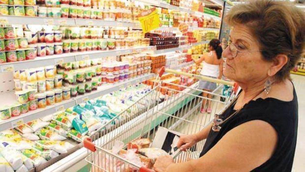 Los precios en supermercados subieron 0,5% promedio en la primera semana de agosto