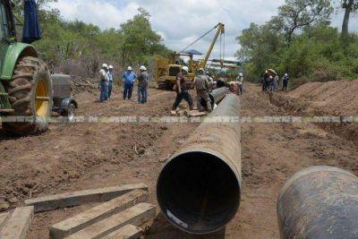 El Gasoducto del NEA es prioritario según el gobierno, pero su ejecución es irregular en todo el trazado