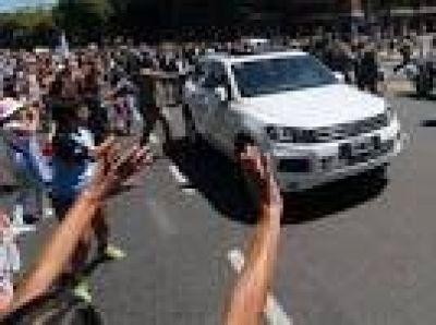 Macri se movilizará en una camioneta blindada