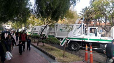 El Municipio sum� 11 camiones cero kil�metro para la recolecci�n de la basura
