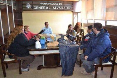 GRAL. ALVARADO: Equipan a los recicladores y proyectan abrir una Planta de Separación de Residuos