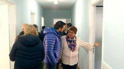 Vuoto recorrió el albergue municipal y el CEPLA