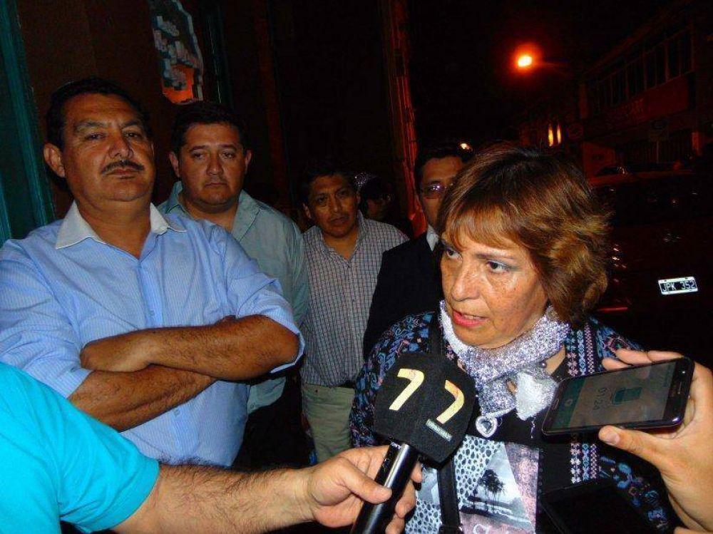 Afiliados de Cedems esperaban proclamación de Junta Electoral