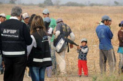 Ladrilleros: operativo en Córdoba
