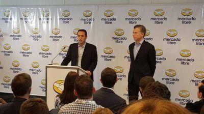 Con la presencia de Mauricio Macri, Mercado Libre anunció una inversión de $1500 millones