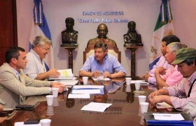 El gobernador comprometió apoyo a pequeños productores