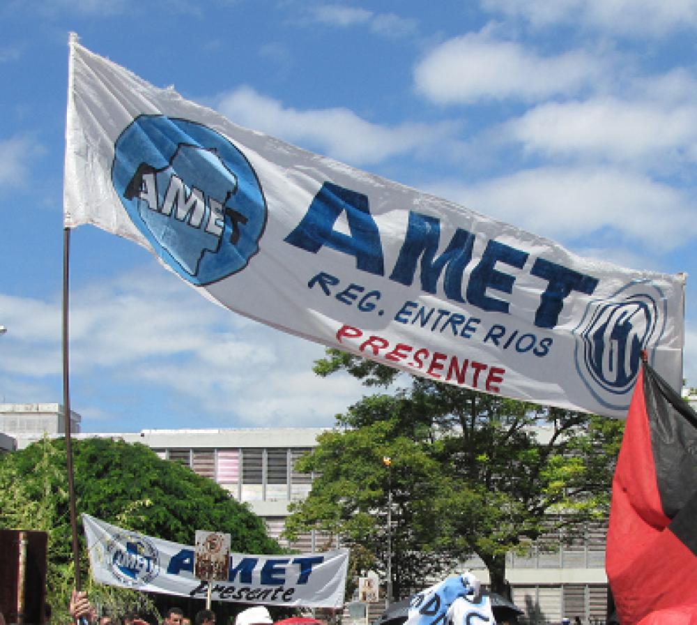 """""""A nivel salarial dependemos de Provincia, no de Nación"""", dijo AMET al responderle a Bordet y a Panozzo"""