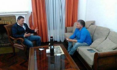 PJ. Bosetti y Quintela afianzan sus vínculos políticos