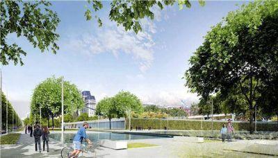 Paseo del Bajo: sumar�n 6 ha de espacios verdes a Puerto Madero